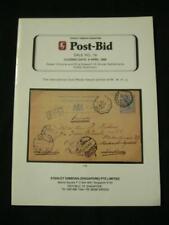 GIBBONS AUCTION CATALOGUE 1989 POST-BID STRAITS SETTLEMENTS POSTAL STATIONERY