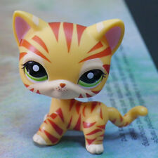 LPS COLLECTION Action Figure ORANGE TIGER CAT RARE #1451 LITTLEST PET SHOP