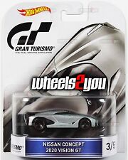 NISSAN CONCEPT 2020 VISION Gran Turismo - 2016 Hot Wheels Retro Entertainment