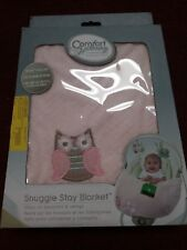 Comfort & Harmony by Bright Starts Snuggle Stay Blanket Pink