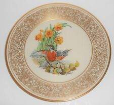 Lenox China Boehm 1977 Robin Plate