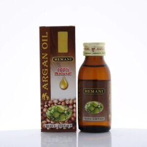 Hemani Argan Oil 60ml. 100% Natural and Cold Pressed