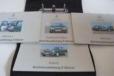 Mercedes clase E W 210 s 210 1997 manual de instrucciones de manual de instrucciones ba