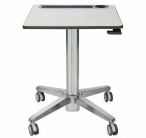 Ergotron LearnFit® Height-Adjustable Standing Student Workstation, Short
