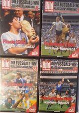 WM 1986 Klassikersammlung 4 DVDs Frankreich Argentinien Deutschland England
