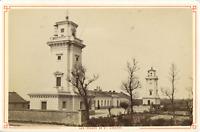 France, Le havre, le phare de Sainte-Adresse  Vintage albumen print Tirage a