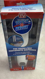 Touch N Brush Hands Free Toothpaste Dispenser And Sonic 4X Toothbrush
