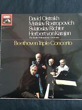 BEETHOVEN TRIPLE CONCERTO: Oistrakh, Richter, Rostropovitch 1970 HMV LP ASD2582