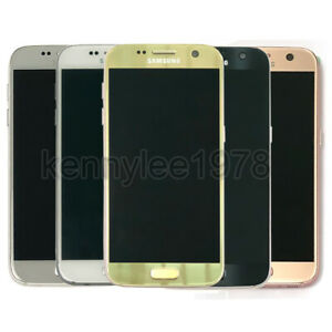 "Genuine Samsung Galaxy S7 SM-G930A 32GB 5.1"" 4G LTE Unlocked AT&T Straight Talk"
