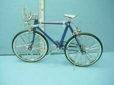 Miniature Racing Bicycle  - Blue - 1/12 scale - #G7553 Miniature World