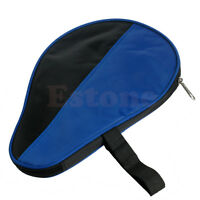 Portable Waterproof  Paddle Bat Cover Table Tennis Racket Case Bag For Ping Pong