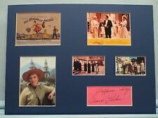 Julie Andrews - The Sound of Music signed by Eleanor Parker aka The Countess