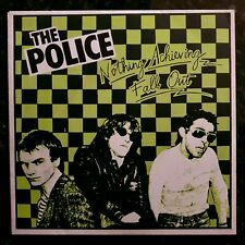 """The Police - Fall Out / Nothing Achieving - Excellent Condition 7"""" P/S"""