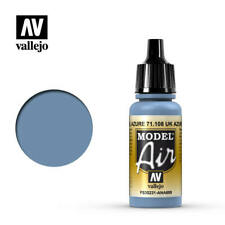 Vallejo Model Air 71.108 UK Azure Blue 17ml Bottle