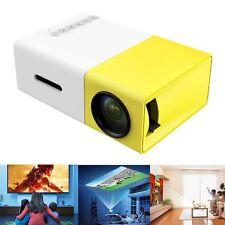 Lumi Full HD Ultra Handheld Projector with USB/SD/AV/HDMI White / Yellow
