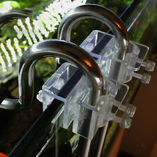 Acrylic Aquarium Lily Pipe Fixture for Fix 12mm 16mm Inflow Outflow Tube