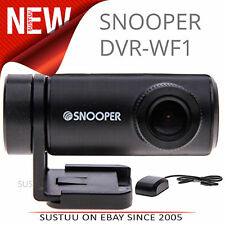 Snooper DVR-WF1 Car Dashcam│GPS Camera│1080p Full HD Driving Video Recorder│WiFi