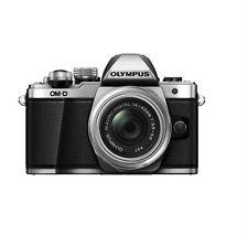 Olympus OM-D E-M10 Mark II Mirrorless Digital Camera w/ 14-42mm EZ Lens (Silver)