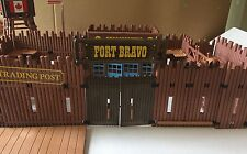Vintage Playmobil Fort Bravo 3773 Incomplete Accessories Cowboys Indians Geobra