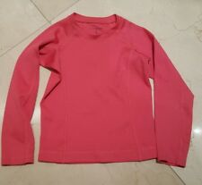 Lands end, girls ,pink long underware top small ,4