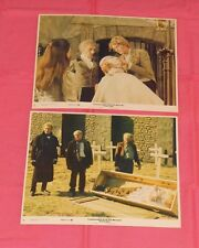 original FRANKENSTEIN AND THE MONSTER FROM HELL LOBBY CARD LOT OF 2