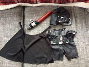 Build-a-Bear Star Wars Darth Vader Costume Including Lightsaber