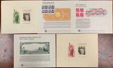 United States BEP B 74-78 Souvenir Cards 1985 Mint