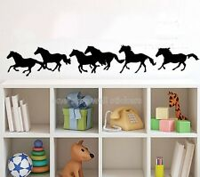 running horse kids room Decoration Wall Paper Art viny removable Sticker WS152