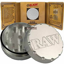Raw Rolling Papers Super Shredder - 2 Partie Meuleuse-AIRCRAFT Grade Aluminium