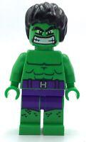 LEGO HULK MINIFIGURE SUPER HERO AVENGERS AUTHENTIC FIG