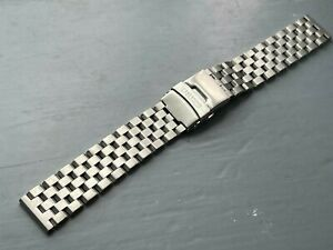 20MM SEIKO TURTLE STAINLESS STEEL WATCH STRAP FLAT LUGS FOR SEIKO watches new.