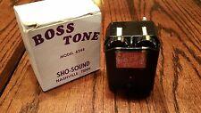 Vintage Sho-Sound Boss Tone Fuzz Distortion Guitar Effects Pedal  Model 6248