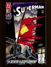 Superman (2nd Series) #75 (2nd Print) VFNM Death of Superman, Doomsday Battle