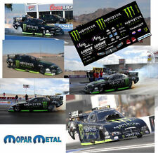 CD_MM_002 Monster Energy Drink Kenny Bernstein   1:18 Scale Decals
