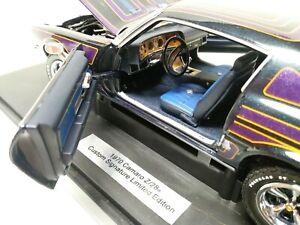 Franklin Mint 1:18 1970 Camaro Z/28 Custom Signature Limited Edition Precision
