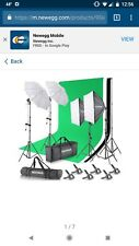 Neewer 8.5 x 10ft photography/video Backdrop and Lighting Kit w/Carrying Case