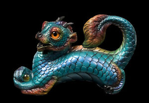 "Windstone Editions ""Calypso"" Young Oriental Dragon Test Paint #1"