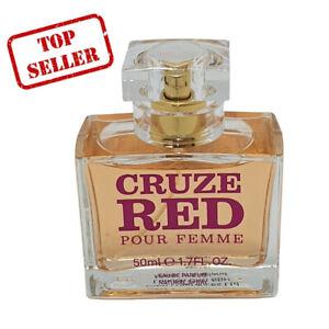Womens Cruze Red 50 ml Eau de Parfum Designer Natural Spray by DM Fragrances