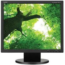 "NEC AccuSync AS172-BK 17"" LED LCD Monitor, 5ms, 1280 x 1024, 1,000:1"