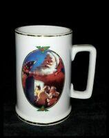 Coca Cola 1996 Collector Edition For Santa Christmas Coffee Cup Mug Vintage