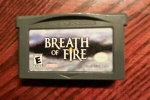 Breath of Fire  (GBA Nintendo Game Boy Advance) Authentic- Game Only!