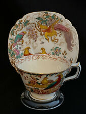 ROYAL CROWN DERBY CHINA OLDE AVESBURY CUP & SAUCER A73