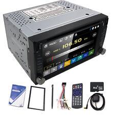 "Double 2Din 6.2""Car Stereo Radio DVD Player Bluetooth TV MP3 Mic GPS Navigation"