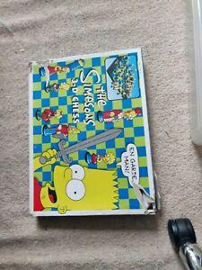 The Simpsons 3D Chess Set - Vintage 1999 - Complete box damaged. Bart. Lisa.