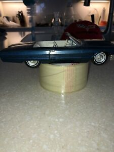 1964 FORD Thunderbird Convertible Screw Bottom Vintage Display Built Model