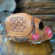 Rawlings Pro-504tl Heart Of The Hide Rare Vintage Lht Pitchers Glove!