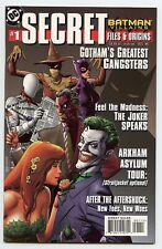 Batman Villains Secret Files & Origins #1 VF DC Comics 1998