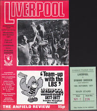 More details for 1977/78 liverpool v dynamo dresden 19-10-1977 european cup & match ticket