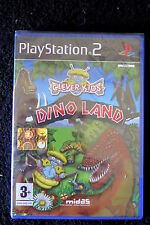 PS2 : CLEVER KIDS : DINO LAND - Nuovo, risigillato ! Minigiochi educativi !