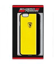 Genuine Ferrari Scuderia Case Cover For iPhone 6 & 6s in Yellow